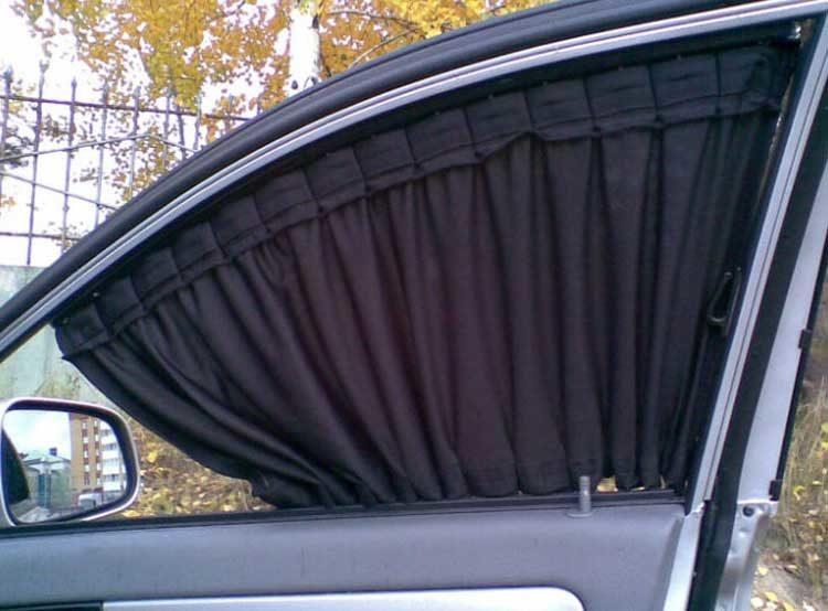 Шторки на автомобильные стекла вместо тонировки